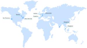 DigitalOcean's datacenters location